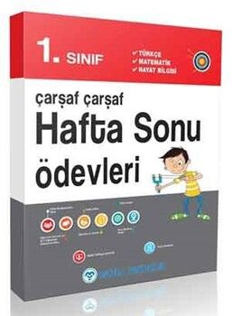 Mutlu Yayınları 1. Sınıf Çarşaf Çarşaf Hafta Sonu Ödevleri