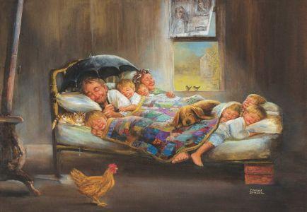 Mutluluğun Resmi  Home Sweet Home 2000 Parça Yapboz