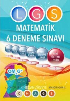 Nartest 8. Sınıf Fen Liselerine Hazırlık Omage Matematik 6 Deneme Sınavı