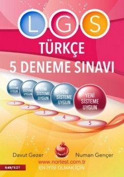 Nartest 8. Sınıf LGS Fen Liselerine Hazırlık Türkçe 5 Deneme Sınavı