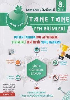 Nartest Yayınları 8. Sınıf Fen Bilimleri Tane Tane Soru Bankası