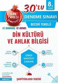 Nartest Yayınları 8. Sınıf Din Kültürü ve Ahlak Bilgisi 30 lu Deneme Sınavı