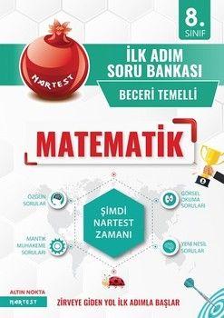 Nartest Yayınları 8. Sınıf Matematik İlk Adım Soru Bankası