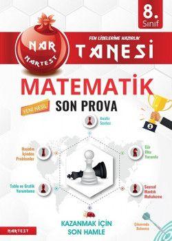 Nartest Yayınları 8. Sınıf Matematik Nar Tanesi Son Prova