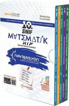 Navigasyon Yayınları 10. Sınıf Matematik Kademeli İlerleme Fasikülleri Soru Bankası Seti