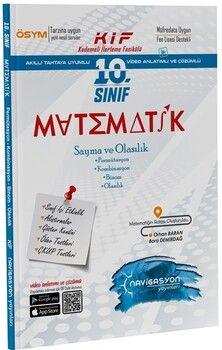 Navigasyon Yayınları 10. Sınıf Matematik Sayma ve Olasılık Fasikülü