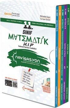 Navigasyon Yayınları 11. Sınıf Matematik Kademeli İlerleme Fasikülleri Soru Bankası Seti