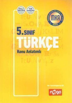 Nego Yayınları 5. Sınıf Türkçe Konu Anlatımlı