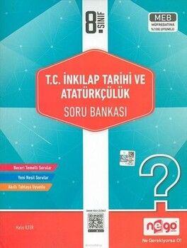 Nego Yayınları 8. Sınıf İnkılap Tarihi ve Atatürkçülük Soru Bankası