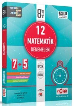 Nego Yayınları 8. Sınıf LGS Matematik 12li Denemeleri