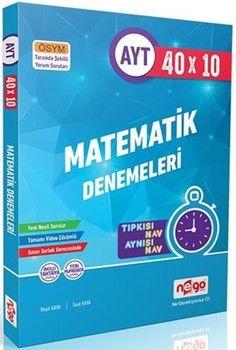 Nego Yayınları AYT Matematik 10x40 Fasikül Branş Denemeleri