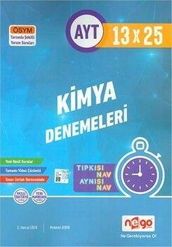 Nego Yayınları AYT Kimya Tamamı Video Çözümlü 13x25 Branş Deneme