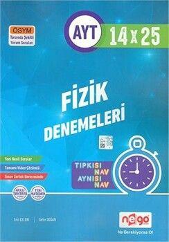 Nego Yayınları AYT Fizik Tamamı Video Çözümlü 14x25 Branş Deneme