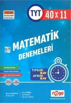 Nego Yayınları TYTMatematik Tamamı Video Çözümlü 40x11 Branş Denemeleri