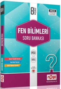 Nego Yayınları8. Sınıf Fen Bilimleri Soru Bankası