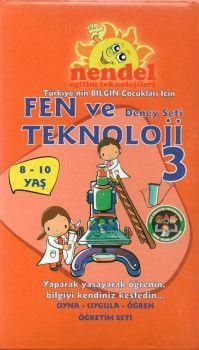 Nendel Eğitim Teknolojileri 3. Sınıf Fen ve Teknoloji Deney Seti