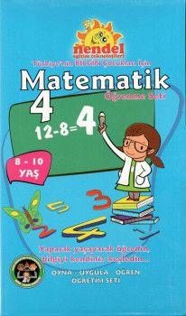 Nendel Eğitim Teknolojileri 4. Sınıf Matematik Öğrenme Seti