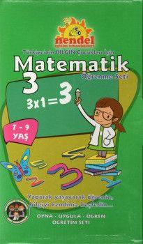 Nendel Eğitim Teknolojileri 3. Sınıf Matematik Öğrenme Seti