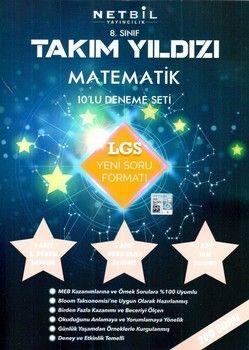 Netbil Yayıncılık 8. Sınıf LGS Matematik Takım Yıldızı 10 lu Deneme Seti