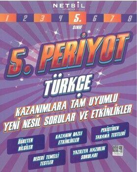 Netbil Yayıncılık 5. Sınıf Türkçe 5. Periyot