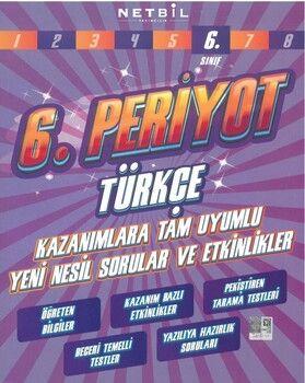 Netbil Yayıncılık 6. Sınıf Türkçe 6. Periyot