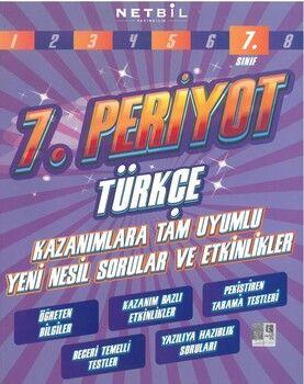 Netbil Yayıncılık 7. Sınıf Türkçe 7. Periyot