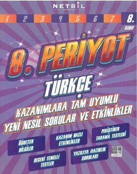 Netbil Yayıncılık 8. Sınıf Türkçe 8. Periyot