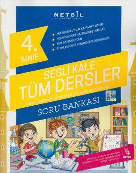 Netbil Yayıncılık 4. Sınıf Tüm Dersler Sesli Kale Soru Bankası