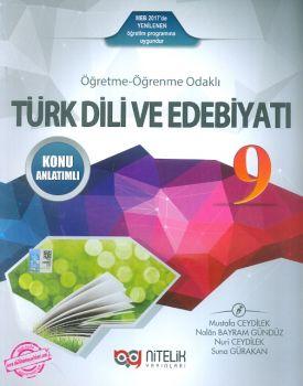 Nitelik 9. Sınıf Türk Dili ve Edebiyatı Konu Anlatımlı