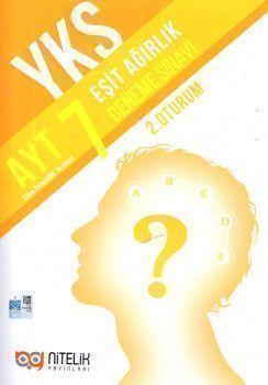 Nitelik Yayınları AYT Eşit Ağırlık 7 Deneme Sınavı