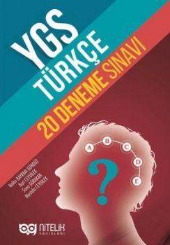 Nitelik Yayınları YGS Türkçe 20 Deneme
