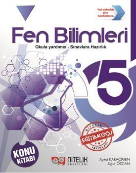 Nitelik Yayınları 5. Sınıf Fen Bilimleri Konu Kitabı