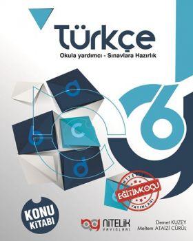 Nitelik Yayınları 6. Sınıf Türkçe Konu Kitabı