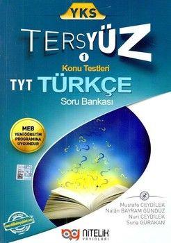 Nitelik Yayınları TYT Türkçe Tersyüz Konu Testleri Tekrar Testleri Soru Bankası