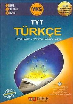 Nitelik Yayınları TYT Türkçe Ders İşleme Kitabı