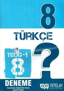 Nitelik Yayınları 8. Sınıf TEOG 1 Türkçe 8 Deneme