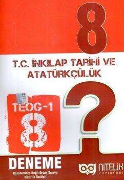 Nitelik Yayınları 8. Sınıf TEOG 1 T.C. İnkılap Tarihi ve Atatürkçülük 8 Deneme