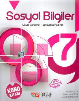 Nitelik Yayınları 7. Sınıf Sosyal Bilgiler Konu Kitabı
