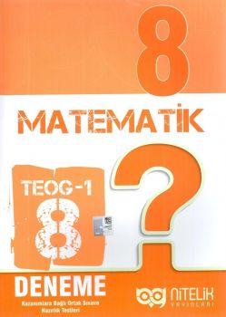 Nitelik Yayınları 8. Sınıf TEOG 1 Matematik 8 Deneme