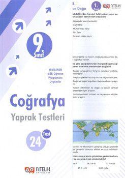 Nitelik Yayınları 9. Sınıf Coğrafya Yaprak Test