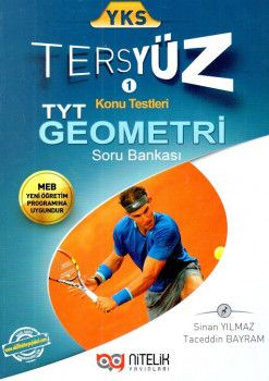 Nitelik Yayınları YKS 1. Oturum TYT Geometri Tersyüz Konu Testleri Tekrar Testleri Soru Bankası