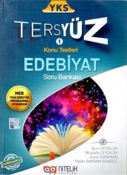 Nitelik Yayınları YKS Edebiyat Tersyüz Konu Testleri Soru Bankası