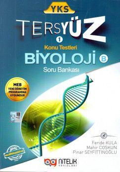 Nitelik Yayınları YKS Biyoloji Tersyüz Konu Testleri Tekrar Testleri Soru Bankası B