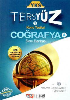 Nitelik Yayınları YKS Coğrafya A Tersyüz Konu Testleri Tekrar Testleri Soru Bankası