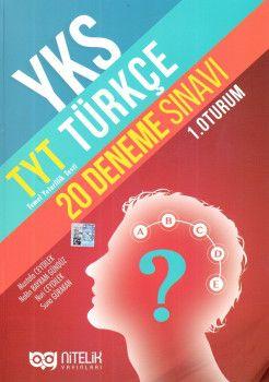 Nitelik Yayınları YKS 1. Oturum TYT Türkçe 20 Deneme Sınavı