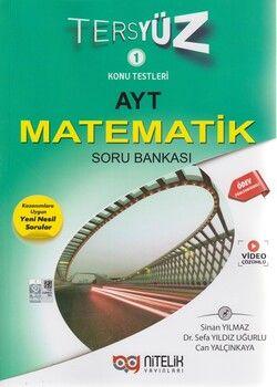 Nitelik Yayınları AYT Matematik Tersyüz Soru Bankası