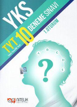 Nitelik Yayınları YKS 1. Oturum TYT 10 Deneme