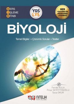 Nitelik Yayınları YGS LYS Biyoloji Ders İşleme Kitabı