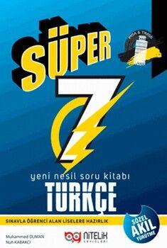 Nitelik Yayınları 7. Sınıf Türkçe Süper Soru Bankası