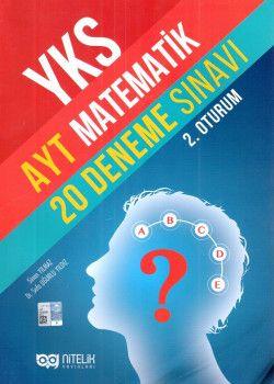 Nitelik Yayınları YKS 2. Oturum AYT Matematik 20 Deneme Sınavı